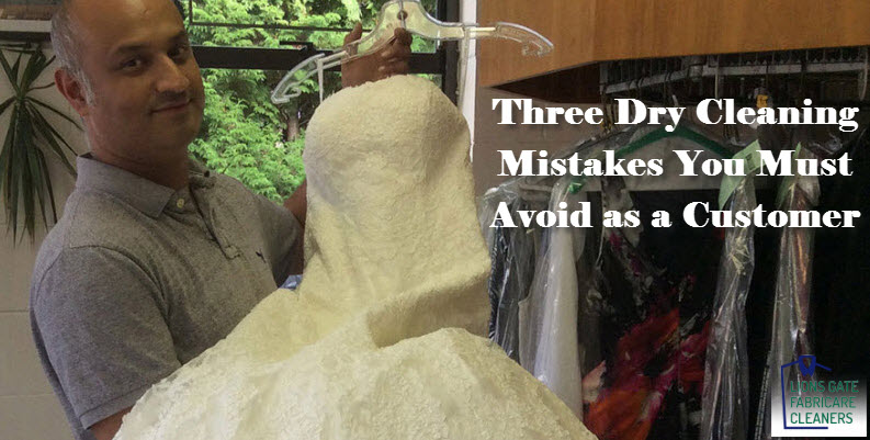 Dry Cleaning Mistakes